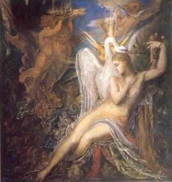 Gustave moreau Léda című festménye